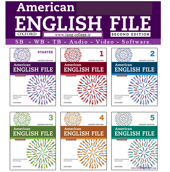American English Files Language Books Series